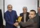 رئاسة الاكاديمية تكرم خريجها الدكتور إبراهيم فرج أبوشمالة بحصولة على درجة الدكتوراه من جامعة الزعيم الأزهري.